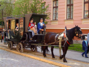 first ever horse-drawn railway in Europe