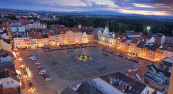 Main Square of Ceske Budejovice