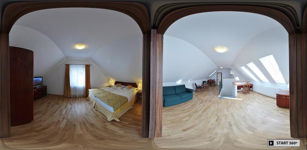 Apartmán 3D pohled