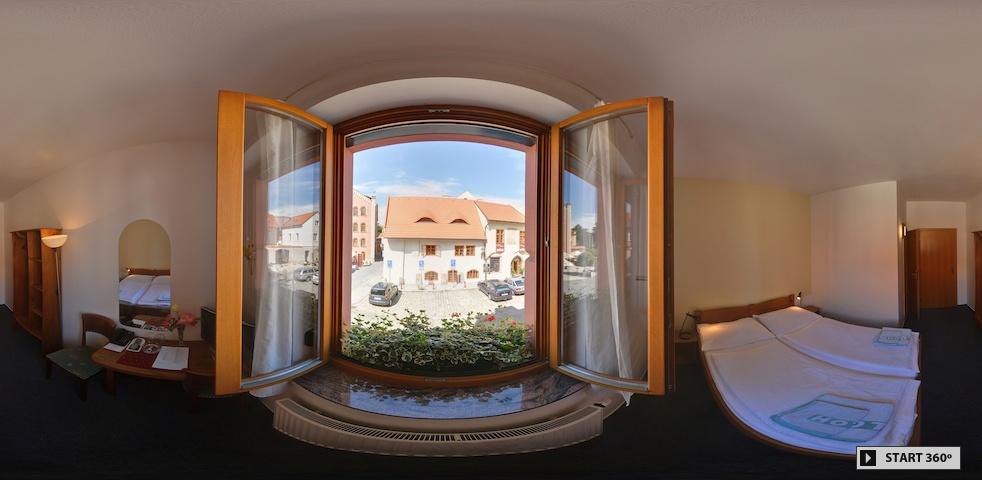 3D hotelový pokoj